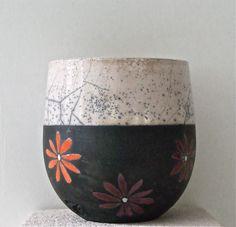 mug blanc motifs paquerettes