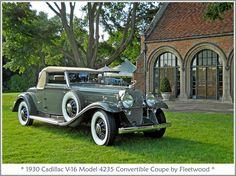 1930 Cadillac V-16 Model 4235