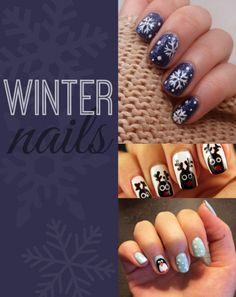 Winter Nail Designs! (more in post) #nails #beauty #style