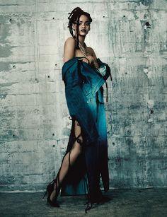 ¡exclusiva! todas las fotos de Rihanna para i-D | read | i-D