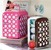Gillian loves this Fridge for her room to have water cool when needed!