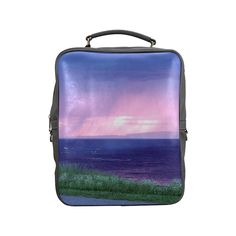 Purple Rain Square Backpack (Model1618)