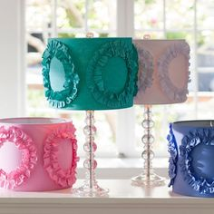 Im doing a bunch of cute DIY/vinage lamps and DIY shades to go with..... this would be perfect<3