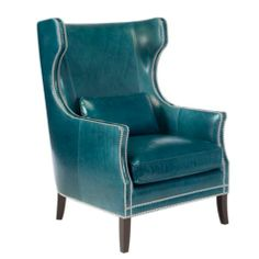 Eddie Accent Chair - Peacock | Chairs | Furniture | Z Gallerie