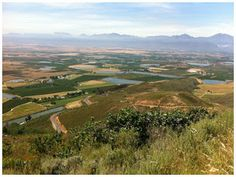 view towards Ceres South Africa, Golf Courses, Vineyard, Cape, Ocean, Sunset, World, Beach, Nature
