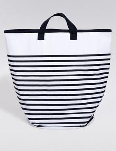 Nautical-inspired beach bag - only £29.50 from Marks & Spencer!