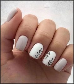 100 Trendy Stunning Manicure Ideas For Short Acrylic Nails Design - Page . - 100 Trendy Stunning Manicure Ideas for Short Acrylic Nails Design – Page 82 of 101 – 100 Trendy - Square Nail Designs, Cute Nail Art Designs, Short Nail Designs, Nail Design For Short Nails, Acrylic Nail Designs For Summer, Latest Nail Designs, Cute Summer Nail Designs, Popular Nail Designs, Natural Nail Designs