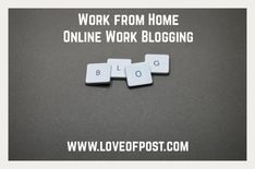 LOP#14 Work from Home – Online Work Blogging How To Start A Blog, How To Make Money, Theme List, Non Disclosure Agreement, Blog Layout, Blog Names, Start Writing, Creating A Blog, Web Browser