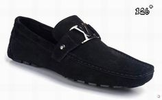 Black Loafers for Men | LV metal accessory Louis Vuitton loafers for men black and white - $ ...