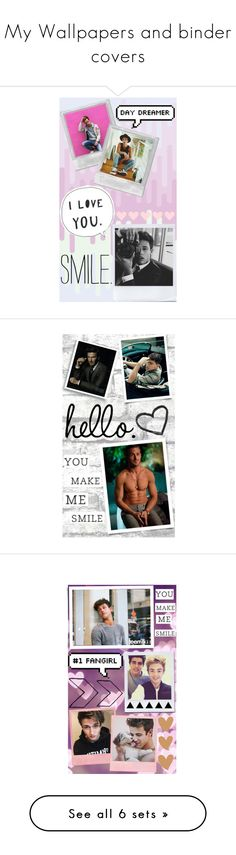 """""""My Wallpapers and binder covers"""" by hola-hi ❤ liked on Polyvore featuring art, wallpaper, CameronDallas, ryangosling, davidbeckham, ChanningTatum, Jackjohnson, jackgilinsky, CrawfordCollins and nashgrier"""