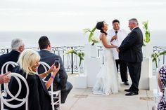 Fun Ceremony at Christine and Barry's wedding with one of our favorite Minister, Rev. Marco!  Villa Grande, Pedregal