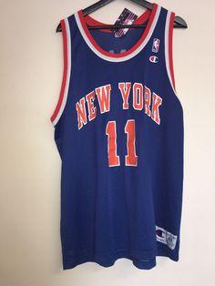 d359b87f424d Vintage Champion NBA New York Knicks Ron Harper Jersey RARE