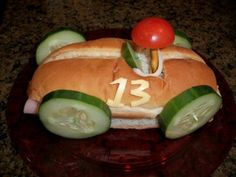 Speedster Car Sub Sandwich