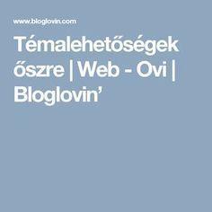 Témalehetőségek őszre | Web - Ovi | Bloglovin'