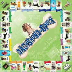 DACHSHUND-OPOLY - Free Shipping! PROUD, CLEVER, AFFECTIONATE, AMUSING…MEET THE DACHSHUND! The Dachshund is a lively breed with a friendly personality and a keen
