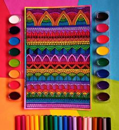 Dibujos Zentangle Art, Worli Painting, Artsy, Drawings, Instagram, Amazing Drawings, Mandalas, Patterns, Sketches