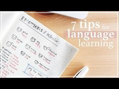 7 TIPS FOR LEARNING A NEW LANGUAGE - YouTube