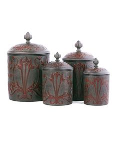 Art Nouveau Canister Set | zulily