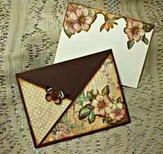 Card: Criss Cross A Ladies' Diary Card (opened)