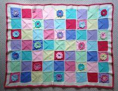 Dinki Dots Craft: Waterlily Blanket Ta-Dah!!!!!