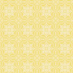 "54"" home decor with 15"" repeat nice for sunny, heavy drapes, $14  Joel Dewberry - Heirloom Home Dec - Tile Flourish in Dandelion"