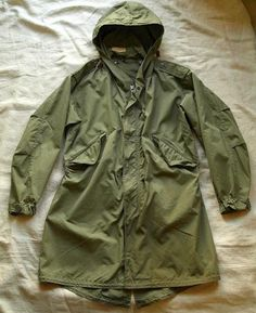 "Parka,Shell,M-1951 ""excellent condition"" size XS - EXTRA'S GARMENT SUPPLY & CO."