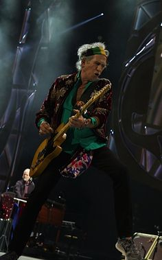 Keith on stage in Sydney
