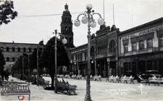 Fotos de León, Guanajuato, México: Plaza Principal Hacia 1945