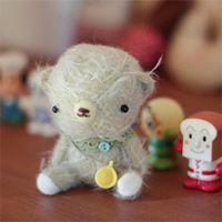 Cute bear baby
