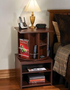 2 Shelf Nightstand with a little more...interesting