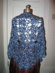 Ravelry: Elegant Shawl pattern by Lion Brand Yarn