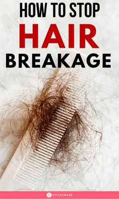 If you notice uncontrollable frizz, dryness, and split ends then you may be experencing hair breakage. Read on to know the treatments to stop hair breakage. Hair Breakage Treatment, Diy Hair Loss Treatment, Stop Hair Breakage, Hair Treatments, How To Prevent Hair Breakage, Dry Hair Remedies, Home Remedies For Hair, Natural Remedies, Damaged Hair Remedies