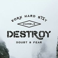 Destroy Doubt & Fear -From@michael_gilliam . . . #pixelsurplus #typography #love #type #dailytype #thedailytype #typelove #typedesign #fontdesign #typeeverything #artoftype #inspiration #fonts #font #motivation #handdrawn #handlettered #fear #quote #quotes #quoteoftheday #typespire #thedesigntip #goodtype #illustration #illustrator #designers #graphicdesign