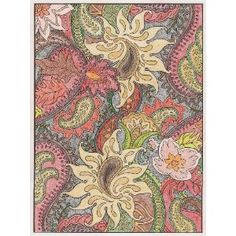 Coloring Books For Adults Awesome Way To De Stress Paisley Designs