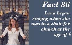 Lana Del Rey #LDR #Fact_86