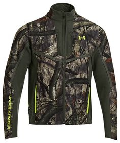 Under Armour® ColdGear® Infrared Scent Control Speed Freek Jacket for Men | Bass Pro Shops