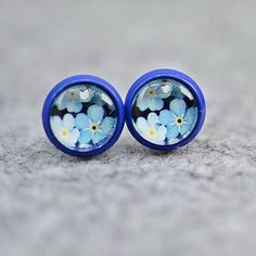 Forget Me Not, Shops, Gemstones, Crystals, Retro, Glass, Blue, Shopping, Jewelry