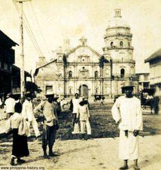 Binondo Church and convent, Manila, Philippines, 1899 Filipino Architecture, Philippine Architecture, Church Architecture, Philippines Culture, Manila Philippines, Philippine Art, Filipino Culture, Mindanao, Old Churches