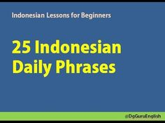 Bahasa indonesia video lesson basic series 1 greeting indonesian learn indonesian indonesian in three minutes greetings m4hsunfo Choice Image