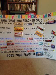 50th birthday gift ideas diy