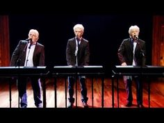 """Three Michael McDonalds Sing """"Row, Row, Row Your Boat"""" with Justin Timberlake and Michael McDonald   The 24 Most Magical Musical Moments On Jimmy Fallon's """"Late Night"""" In 2013"""