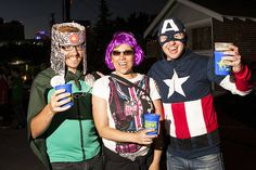 The Reno Superhero Crawl occurs every July in downtown Reno, and is the best place to see Spiderman, Superman, Wonderwoman, Batman, Robin, Catwoman, Ironman...