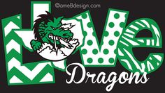 Spirit shop design for Southlake Carroll. Prints on black t-shirts and back of hoodie pull-overs.
