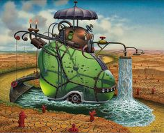 Jacek Yerka, Pintura Surrealista