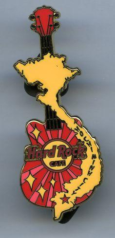 Ho Chi Minh City - Hard Rock Cafe Guitar Pin