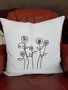 Deko Kissen-Stilisierte Throw Pillows, Tote Bag, Embroidery, Environment, Decorative Pillow Covers, Unique Gifts, Linen Fabric, Threading, Cushions