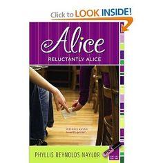 Reluctantly Alice: Phyllis Reynolds Naylor: 9781416958765: Amazon.com: Books
