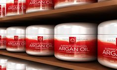 InstaNatural Argan Oil Hair Mask – Deep Conditioner Treatment. GET IT FOR FREE!