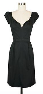 #madmen   Trashy Diva Sophia Dress cg-d3732-blackstretch