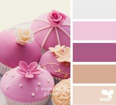 Pinks, Mauves & Neutral tones for a more sophisticated big girl room